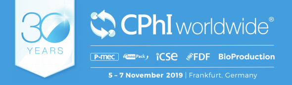 CPhI worldwide 2019 – Francfort – 5 au 7 novembre 2019 Socosur Chem partagera le stand 60F12 avec les autres Indis AssociatesCPhI worldwide 2019 in Frankfurt  5-7 Nov. 2019 Socosur Chem will share booth 60F12 with the other Indis Associates.